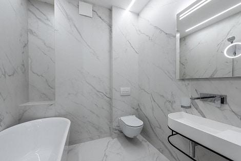 אמבטיה חדשה באמצעות ציפוי וחידוש