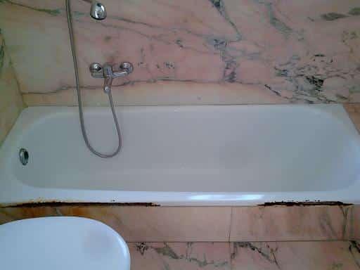 ציפוי אמבטיה ותיקון לפני העבודה