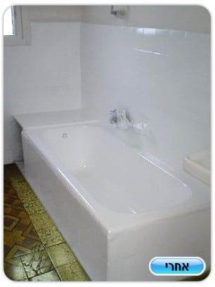 חידוש אמבטיה בתל אביב
